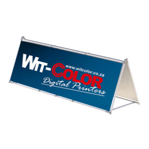 Witcolor Digital - A-Frame Banner | 2x1m and 3x1m