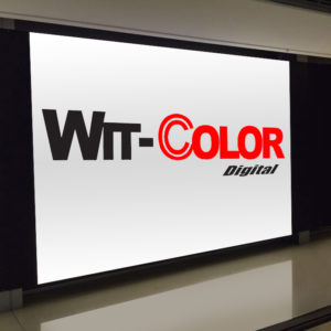 Witcolor - Backlit PVC Banner is a vinyl print with a back light
