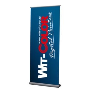Witcolor - Deluxe Roller Banner Stands are professional and affordable