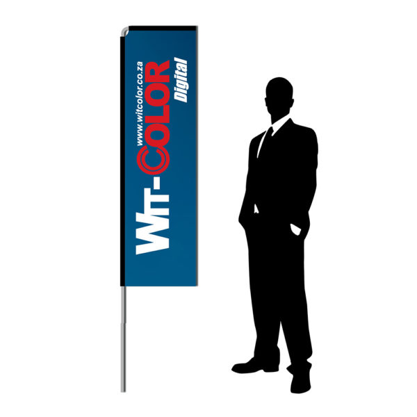 Witcolor - Telescopic Wind Flags - 2 meters