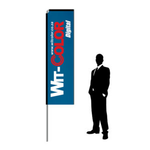 Witcolor - Telescopic Wind Flags - 3 meters