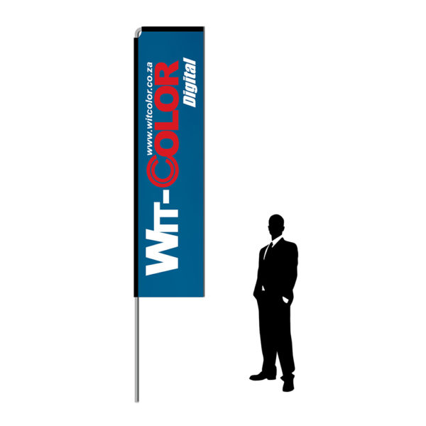 Witcolor - Telescopic Wind Flags - 4 meters
