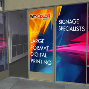 Witcolor - One Way Contravision Film for Glass windows, doors etc.