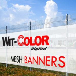 Witcolor - Outdoor Mesh Banner for fences or buildings
