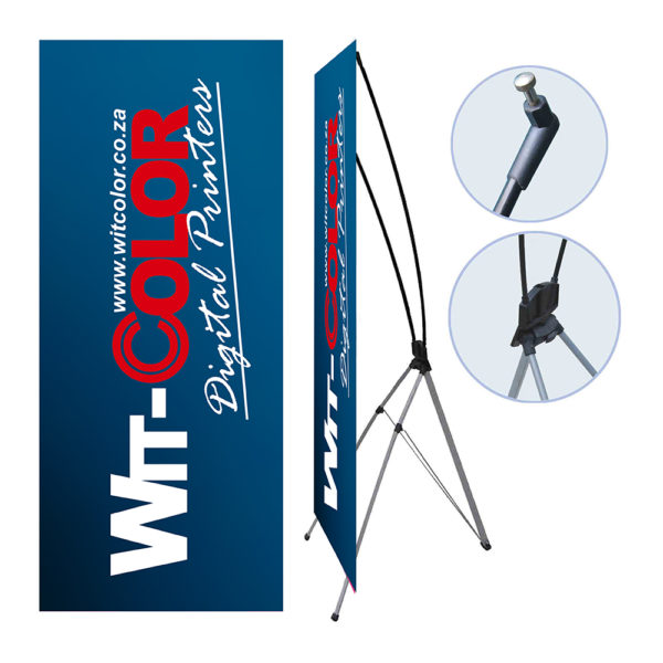 Witcolor Digital - Executive X-banner Stand