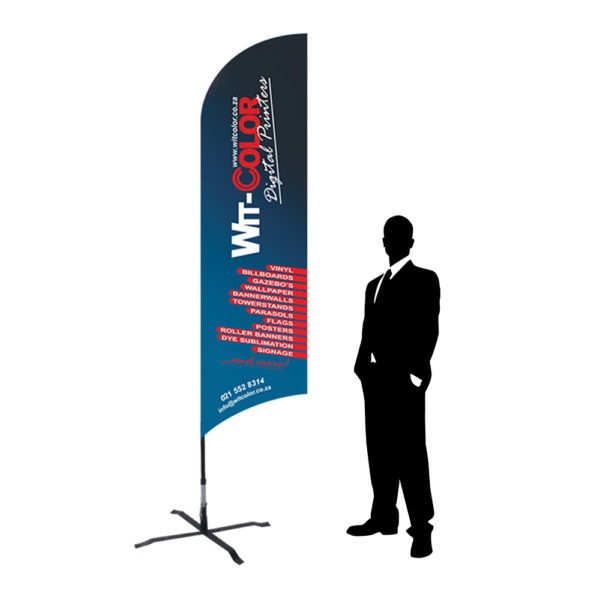 Witcolor - Fly banner flag - 3m