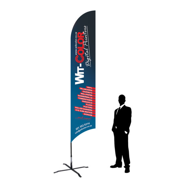 Witcolor - Fly banner flag - 4m