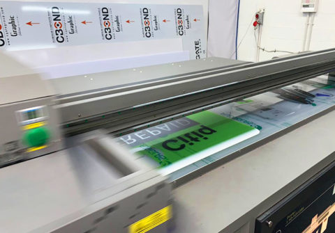 Wit-Color Digital does Flatbed Printing onto Plexiglass